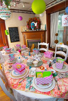 A Mad Hatter's Tea Party!