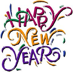 2014 New Year text, images, ribbons, borders on Pinterest   Happy New ...