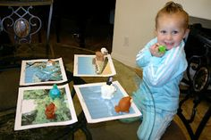 Habitat Sort! Such a great activity for kids. Includes free printable habitats!