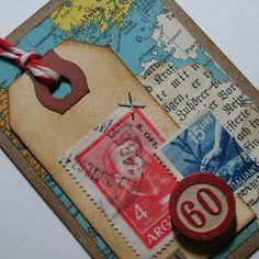 Bursts of Creativity: World Traveler ATCs