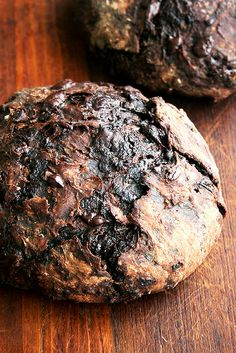 chocolate-cherry (or not) bread
