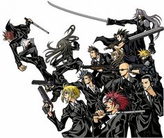 Final Fantasy VII: Quick, Everyone Wear Black Edition.