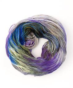 Tricksy Knitter - Merino & Silk Knitting Kit - Twilight