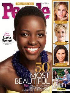 Lupita Nyong'o named People Magazine's 'Most Beautiful' Woman 2014