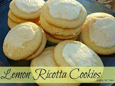 Juggling Act: Lemon Ricotta Cookies