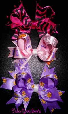 Mini Boutique stacked hair bows set