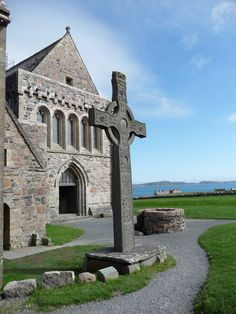 Ancient Isle of Iona, Scotland.