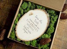 hand, craft boxes, φθινοπωρινός γάμος, invit idea, wedding invitations