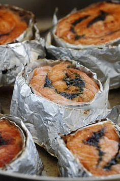 Herb-Stuffed Salmon Roulade