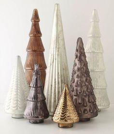 Christmas trees - gorgeous