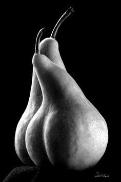 Pears Can Be Sexy Too Greeting Card by Frederic A Reinecke