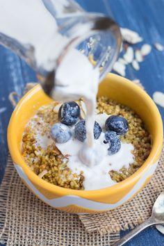 #Recipe: Crispy Honey #Quinoa Cereal