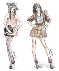 Desenho de roupas...simplismente lindo
