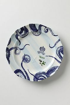 from the deep dinner plate