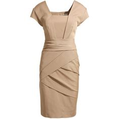 beautiful beige dress for work