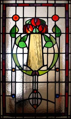 Traditional glass - Stephen Weir Stained glass, Glasgow, Scotland; arts and crafts, bungalow