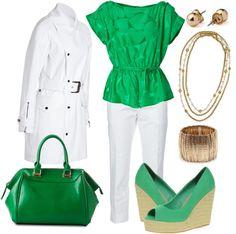 Green, White, & Gold