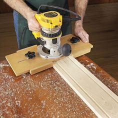 Fluting Jig Woodworking Plan