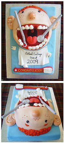 Dental School Graduation. Great cake!
