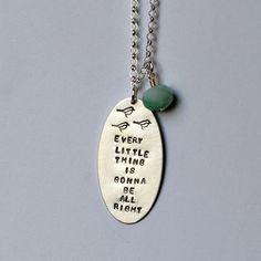 Three Little Birds necklace