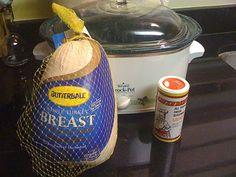 Aunt Lody's Crockpot Turkey by Suburban Epicurean #thanksgiving #anydaymeal  #easyturkey
