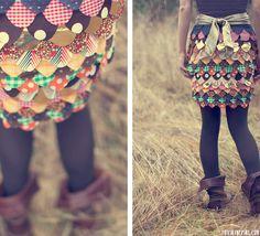 DIY | Tumblr  Patchwork Skirt