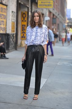 summer leather in the streets of New York