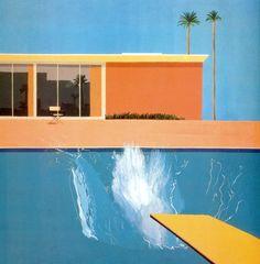David Hockney – A Bigger Splash – 1967 – Tate Gallery. London