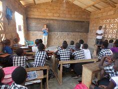 volunteer teaching in Ghana. #volunteer #ghana