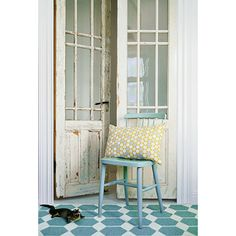 Door, Scandinavian style