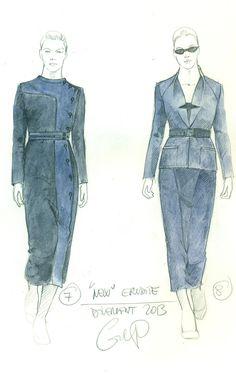 #Erudite costume inspiration for the #Divergent movie.