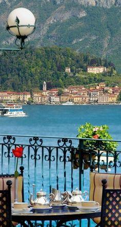 The Grand Hotel Tremezzo on Lake Como, Italy
