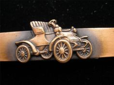 Vintage Men's Copper Tie Clip Old Timey by TheJewelryLadysStore,