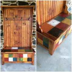 secret diy, staci brain, custom creation, paint furnitur, furnitur idea, hall tree