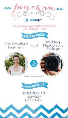 Invisalign Wedding Pin to Win Banner Bridal Musings Wedding Blog