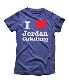 Blue 'I Love Jordan Catalano' Tee