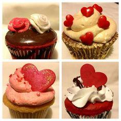 Cupcakes! San valentine day! ♥