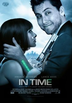 Lance Bass in In Time #NSYNC members in Justin Timberlake movies: http://www.nextmovie.com/blog/justin-timberlake-n-sync-posters/