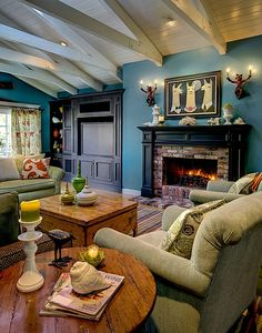 Cottage Living Room - Find more amazing designs on Zillow Digs!