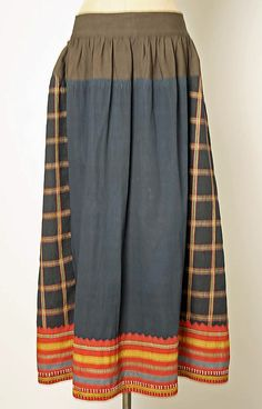 Russian wool skirt