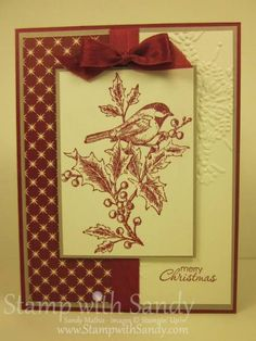 Beautiful Season and Three Challenges by stampwithsandy - Cards and Paper Crafts at Splitcoaststampers