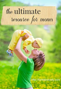 I wish I would have known about this years ago! Online courses for Mom's in those areas we question most! http://fantabulosity.com