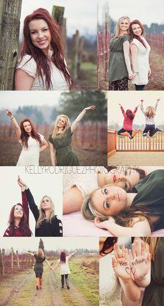 best friends photography , senior session, Puyallup Wa Photographer , Puyallup WA photography
