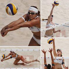 Women's 2012 US Olympic Beach Volleyball Team