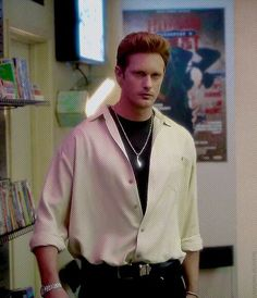 True Blood Season 7! This whole Ginger flashback was HILARIOUS! I loved seeing 1990s Eric!