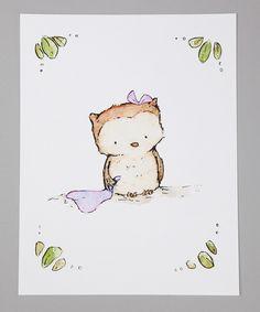 Little Lavender Owl— trafalgar's square