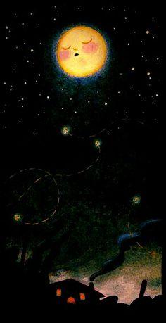 whimsic moon, sleepi moon, night moon, sweet dreams