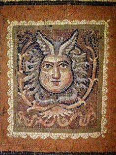 Detail of Roman floor, Museum of Rimini