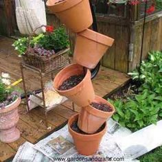 Stack of pots
