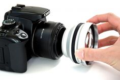 telephoto lens adapter. My lens is 72mm (hint, hint)